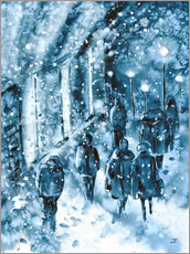 Gallery Print  winter in der stadt - Zaira Dzhaubaeva
