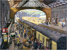 Gallery Print  The Terminus, Penzance Station, Cornwall - Stanhope Alexander Forbes