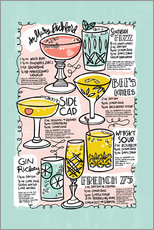 Wandsticker  Have A Drink on Me - Cynthia Frenette