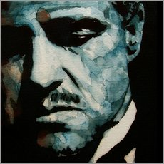 Gallery Print  The Godfather   Marlon Brando - Paul Lovering Arts