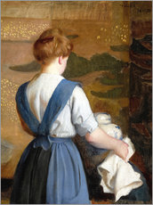 Gallery Print  Lizzie - William McGregor Paxton