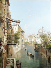 Gallery Print  Canale San Barnaba, Venedig - Franz Richard Unterberger