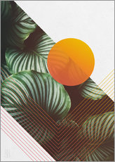Wandsticker  Tropical summer - Michael Tarassow