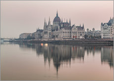 Gallery Print  Bunte Sonnenaufgänge in Budapest - Mike Clegg Photography
