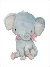 Wandsticker  Mein kleiner Elefant - Kidz Collection