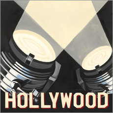 Wandsticker  Hollywood - Marco Fabiano