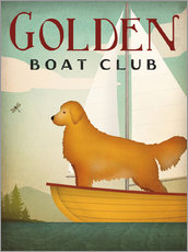 Wandsticker  Golden Boat Club - Ryan Fowler