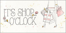 Gallery Print  Shop o'clock - Anne Tavoletti