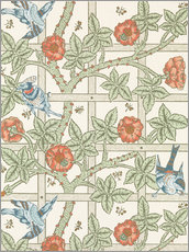 Wandsticker  Gitter - William Morris
