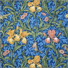 Wandsticker  Iris - William Morris