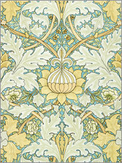 Wandsticker  Design mit Blumen - William Morris
