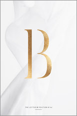 Wandsticker  GOLD LETTER COLLECTION B - Stephanie Wünsche