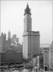 Gallery Print  Woolworth Building um 1913 - Glasshouse