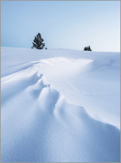Wandsticker  Winterlandschaft - Johner