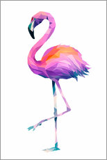 Gallery Print  Flamingo 2 - Miss Coopers Lounge