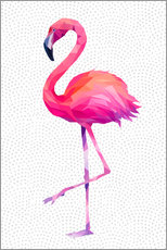 Gallery Print  Flamingo 1 - Miss Coopers Lounge