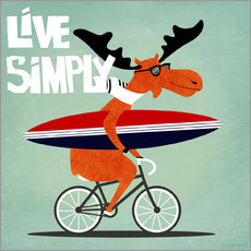 Wandsticker  gaby jungkeit live simply - coico
