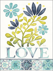 Wandsticker  Love - Laura Marshall