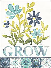 Wandsticker  Grow - Laura Marshall