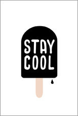 Gallery Print  Stay cool - Ohkimiko