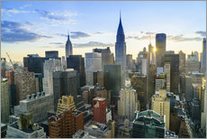Wandsticker  Manhattan Skyline, Empire State Building und Chrysler Building - Fraser Hall