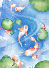 Gallery Print  Tanzende Fische - Rebecca Richards