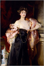 Gallery Print  Lady Helen Vincent, Viscountess of d'Abernon - John Singer Sargent