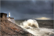 Gallery Print  Porthcawl Lighthouse - Simon West