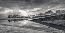 Wandsticker  Tenby Harbour Reflections - Simon West