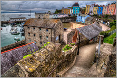 Wandsticker  Down To Tenby Harbour - Simon West