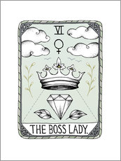 Wandsticker  The Boss Lady - Barlena