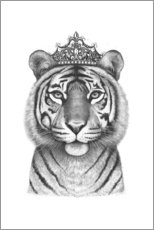 Gallery Print  Tiger Queen - Valeriya Korenkova
