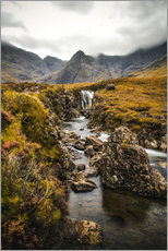 Wandaufkleber  Fairy Pools, Isle of Skye - Sören Bartosch