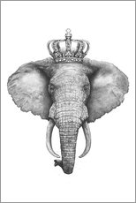 Alubild  The Elephant King - Valeriya Korenkova