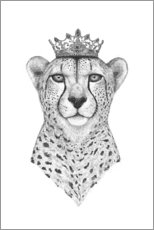 Premium-Poster Queen Cheetah