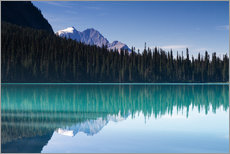 Premium-Poster Spiegelung am Emerald Lake, British Columbia, Kanada