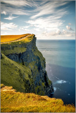 Leinwandbild  Cliffs of Moher in Irland - Sören Bartosch