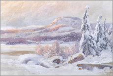 Carl Brandt - Winterlandschaft