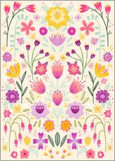 Gallery Print  Florale Symmetrie - Nic Squirrell