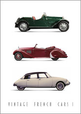 Gallery Print  Vintage French Cars 01 - Christian Müringer