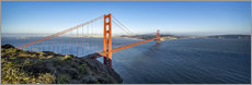 Acrylglasbild  Golden Gate Bridge, San Francisco, USA - Jan Christopher Becke