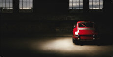 Gallery Print  Roter Porsche 911 - Art Couture