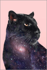 Hartschaumbild  Galaxy Panther - Jonas Loose