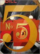 Gallery Print  Figur 5 in Gold - Charles Demuth