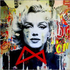 Premium-Poster  Marilyn - Michiel Folkers