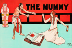 Wandsticker  The Mummy - John Hassall