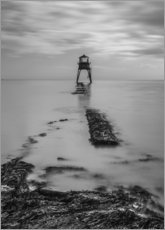 Leinwandbild  Dovercourt Lighthouse in Essex - Simon J. Turnbull