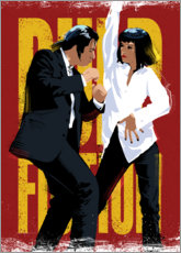 Wandsticker  Pulp Fiction Dance - Nikita Abakumov