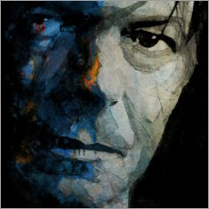 Leinwandbild  Chamäleon ? David Bowie - Paul Lovering