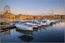 Gallery Print  Alter Hafen in Marseille - Vincent Xeridat